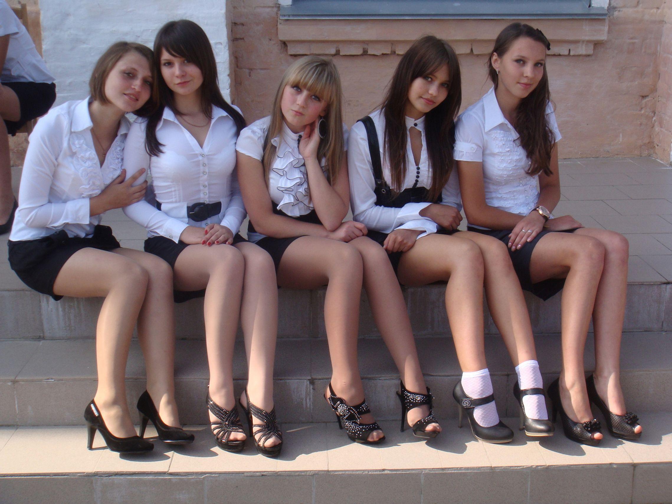 Русские молодые девчонки