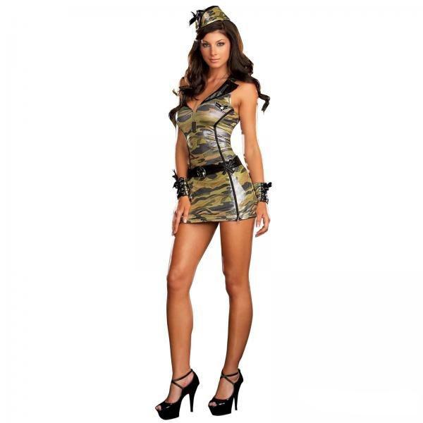 девушки в военной мини фото